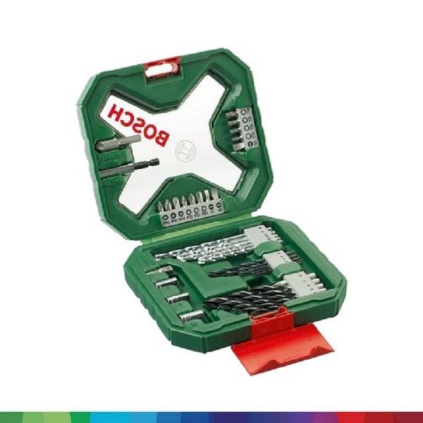 Bộ Mũi Khoan Và Tua Vít Đa Năng Bosch X-Line 34 Món