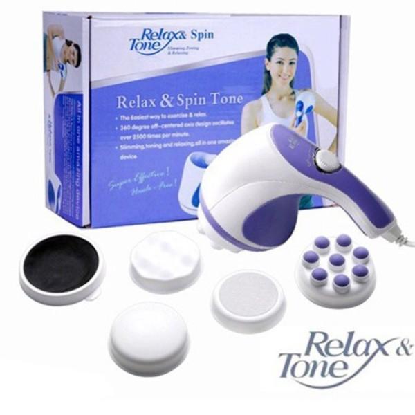 Máy Massage Cầm Tay Hàng Nội Địa Nhật - Máy Massage Toàn Thân Giá Rẻ, Máy Massage Cầm Tay Relax & Spin Tone Chất Lượng Cao Đa Chức Năng An Toàn  Hiệu Quả Cho Người Sử Dụng