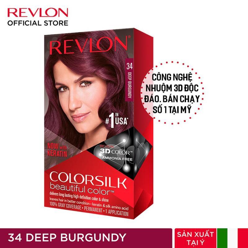[Tặng 1 Khẩu Trang] Nhuộm tóc thời trang Revlon Colorsilk 3D cao cấp