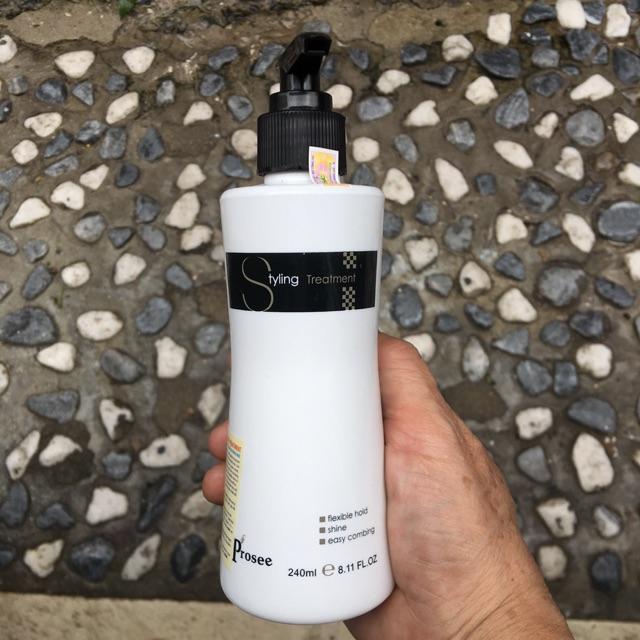 Gel mềm tạo kiểu tóc xoăn Prosee Curl Designer 240ml giá rẻ
