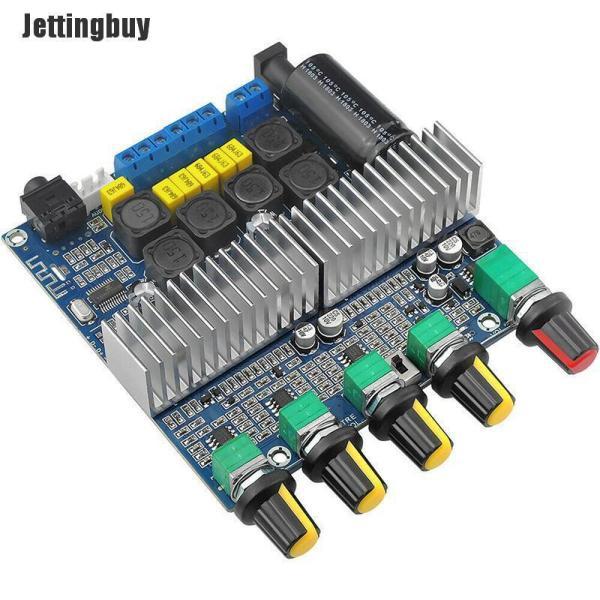 Jettingbuy Bộ Khuếch Đại Âm Thanh Potey Mạch Bluetooth 5.0 TPA3116D2 Kỹ Thuật Số 2.1 100W + 50W + 50W DC 12-24V