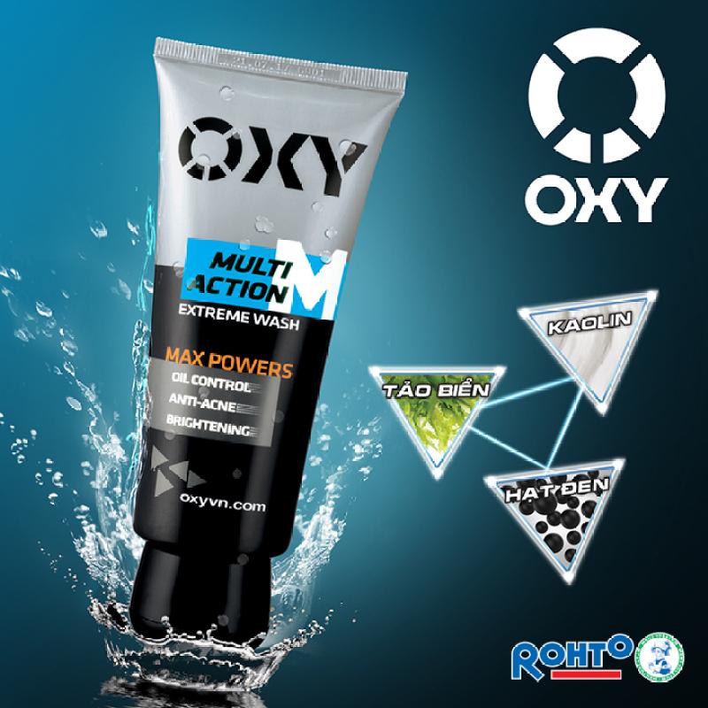 Sữa Rửa Mặt Đa Tác Động OXY Multi Action 100g