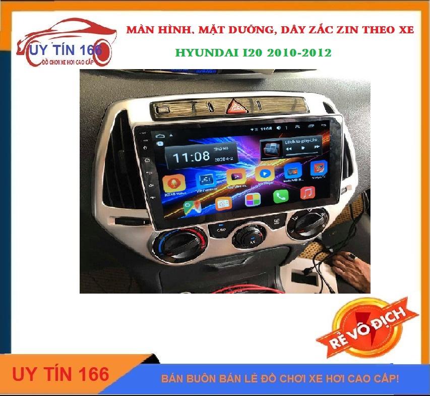 [Hỗ Trợ Lắp Đặt Tại Hà Nội] Màn hình android chạy hệ điều hành 10. màn hình kết nối wifi cho xe HYUNDAI I20, ra lệnh giọng nói tích hợp vô lăng, tích hợp các loại camera, có sẵn bản đồ NAVITEL, YOUTUBE VANCED, SHOP UY TÍN 166 !