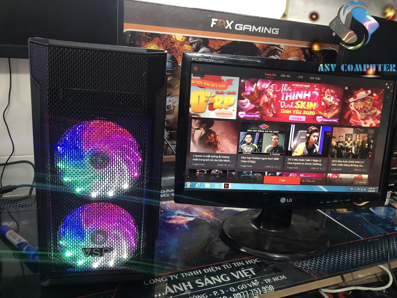 Siêu Tiết Kiệm Khi Mua PC Chơi Game A4 5300k, Ram 8GB,VGA HD 7480D 4GB, Màn Hình 19inch (như Hình)