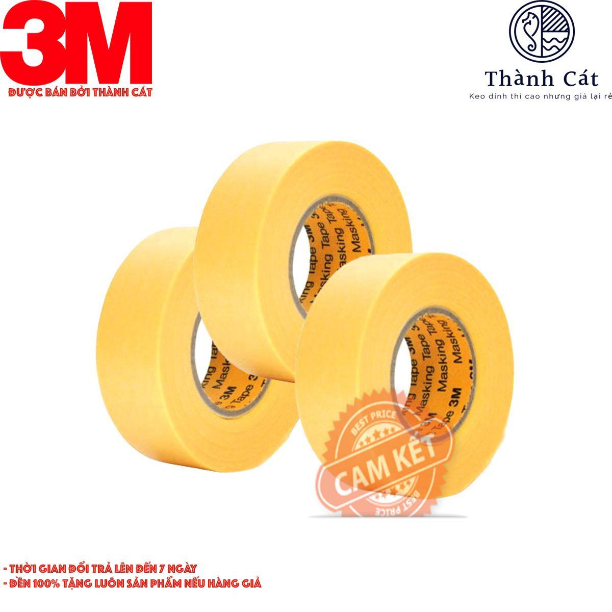 Bộ 5 cuộn băng keo 3M 244 8mmx50m
