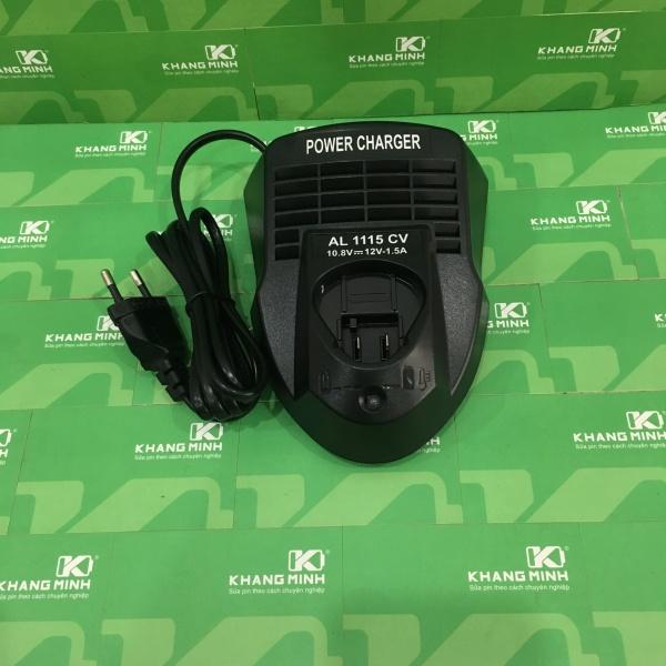 Sạc pin máy Bosh 10.8V - 12V pin cắm, dòng sạc 1.5A. Mới 100%, điện 220V AC