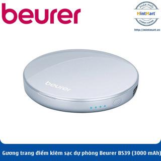 Gương trang điểm cầm tay kiêm sạc dự phòng Beurer BS39 (3000 mAh) - Hàng Chính Hãng thumbnail