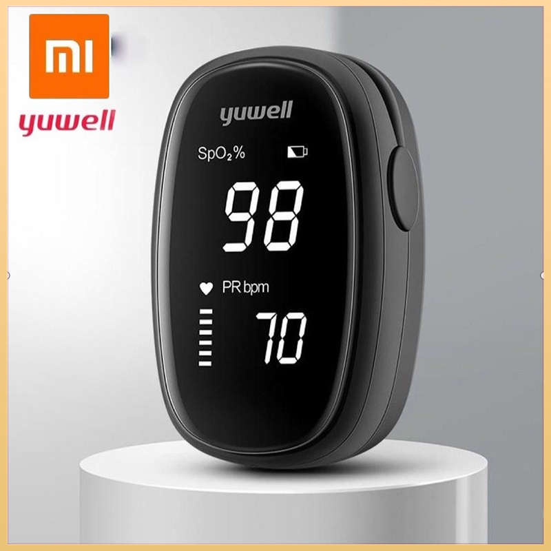 Xiaomi Yuwell Oximeter OLED Finger Pulse Oximeter Finger Clip Preventive Heart Pulse Oximeter Heart Rate Low Voltage bán chạy