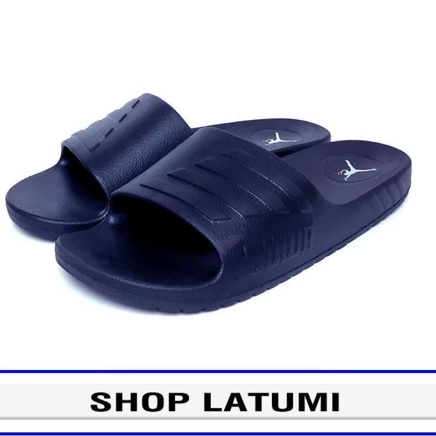 Dép quai ngang, dép đúc siêu nhẹ, dép bảng, dép nam, dép nữ thời trang cao cấp Latumi TA2506 phong cách đơn giản nhưng vẫn hiện đại (Xanh Đen) giá rẻ