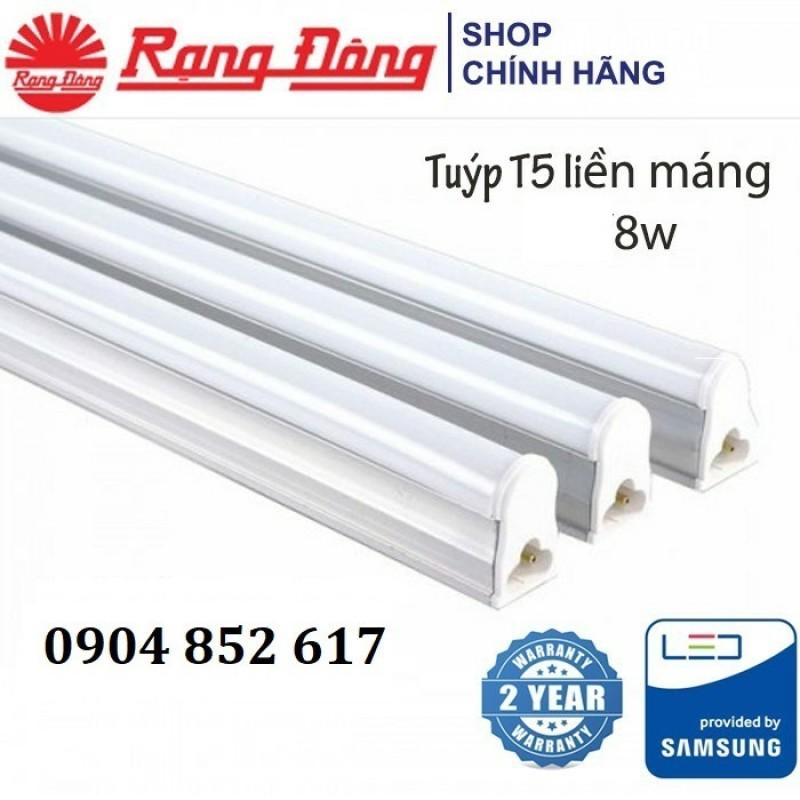 Đèn Led Hắt Trần T5 Rạng Đông 8W 60Cm, Bảo Hành 2 Năm, Chipled Samsung