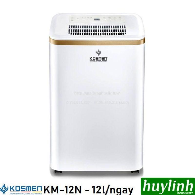Máy hút ẩm dân dụng Kosmen KM-12N - 12 lít/ngày