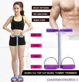 Dụng cụ tập thể dục tại nhà Tummy Trimmer - dụng cụ tập thể hình - chăm sóc sức khỏe lò xo kéo tập gym - dụng cụ thể hình giảm mỡ hiệu quả - dụng cụ tập gym hiệu quả tại nhà - dụng cụ tập bụng thumbnail