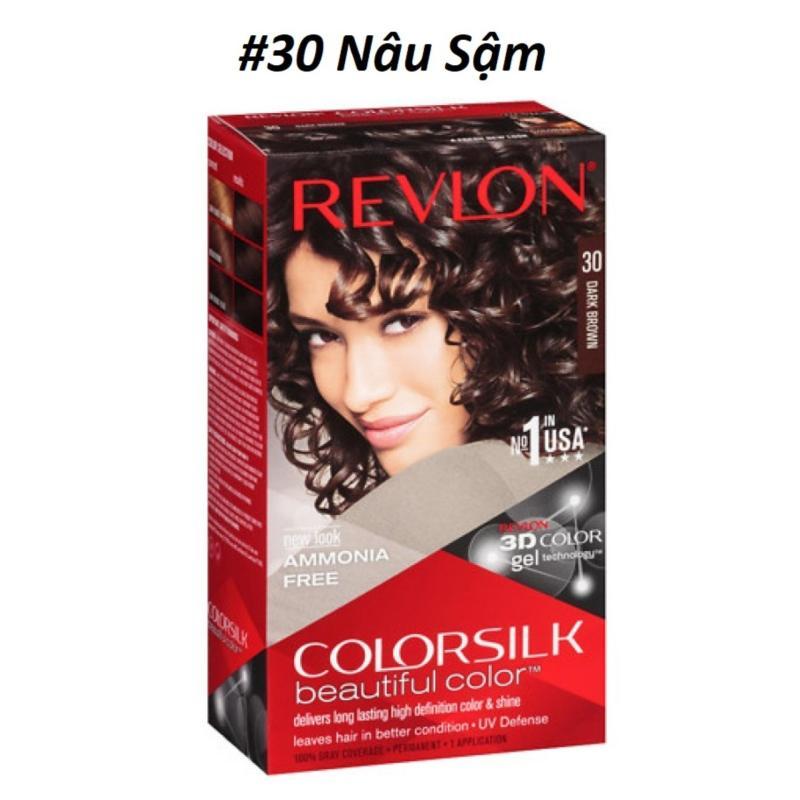 THUỐC NHUỘM TÓC REVLON 3D COLOR SILK 130ml cao cấp