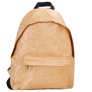 Unisex Backpack Kraft Paper Student School Bag Multifunctional Large Capacity Washable Tear-Resistant Environmentally thumbnail
