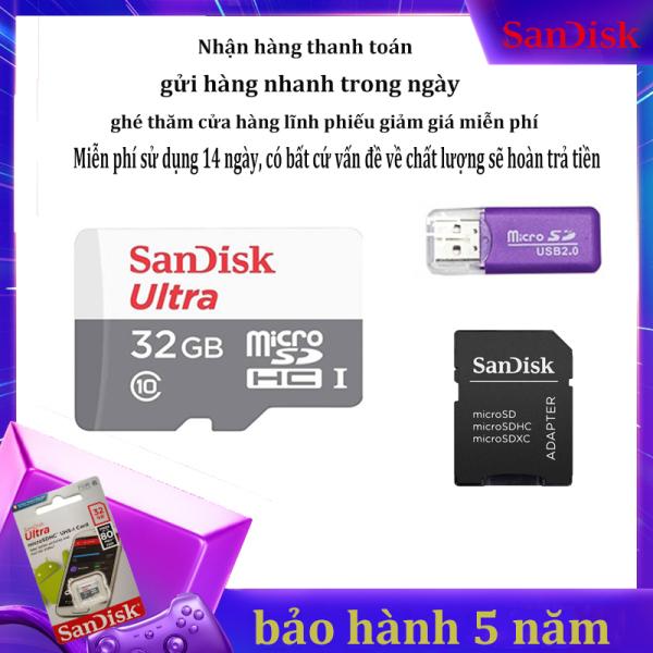 [Giảm giá / triết khấu 12% ] Thẻ Nhớ Micro SD Class10 Micro SDHC TF Thẻ Nhớ Cực Micro SDXC Thẻ Nhớ Siêu 32GB  Micro SDHC UHS-1 C10 80 MB/giây qùa tặng  kèm Adapter