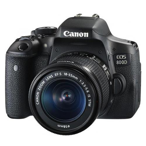 Máy ảnh Canon EOS 800D kit 18-55mm STM - Chính hãng - Tặng thẻ 16GB + Túi