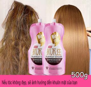 Mặt nạ dưỡng tóc uốn, dưỡng tóc khô xơ, giúp giữ nếp, tạo nếp tóc mềm mượt, phục hồi hư tổn, phục hồi tóc hư tổn nhanh chóng sau khi sử dụng. thumbnail