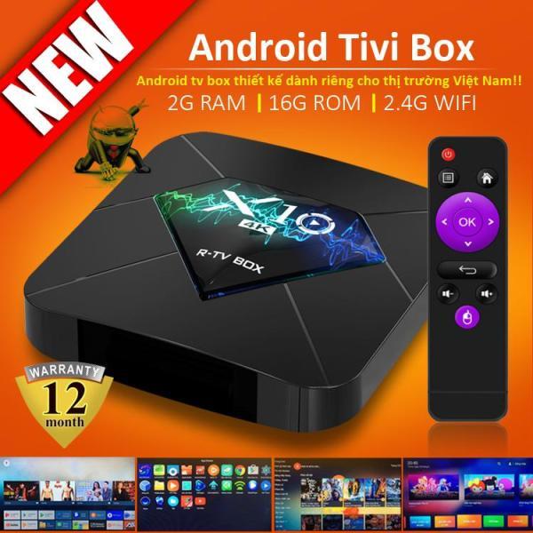 Bảng giá Android TV BOX X10,  2 Phiên Bản Ram 2G Và 4GB ,Tích Hợp Chức Năng Tìm Kiếm Giọng Nói Ứng Dụng Xem Phim Lẻ, Phim Bộ, Có Thể Tải Thêm Trên Play Store – Lưu Ý: Box Tối Ưu Trên HDMI .Sản Phẩm Bảo Hành 1 Năm. TV BOX Điện máy Pico