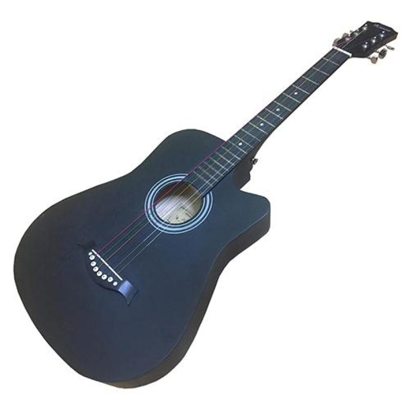 Đàn Guitar acoustic thùng dáng khuyết GU05 màu đen nhám