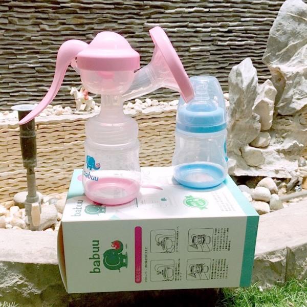 Máy hút sữa cầm tay Babuu - Tặng 6 túi trữ sữa