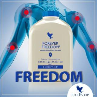 Forever Freedom 196 FLP Nước uống dinh dưỡng Aloe Vera hỗ trợ xương khớp, Dịch Nhầy ở Khớp thumbnail