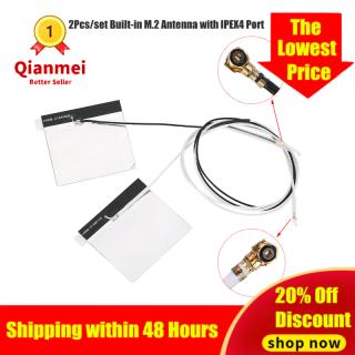 Qianmei 2 Ăng Ten WiFi IPE Gene4 Tích Hợp NGFF M.2 Tự Làm Có Cổng IPEX4 2.4 5G thumbnail