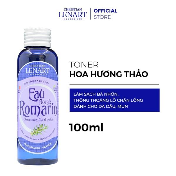 Nước Hoa Hồng Christian Lenart Chiết Xuất Hoa Hương Thảo Eau florale d Romarin