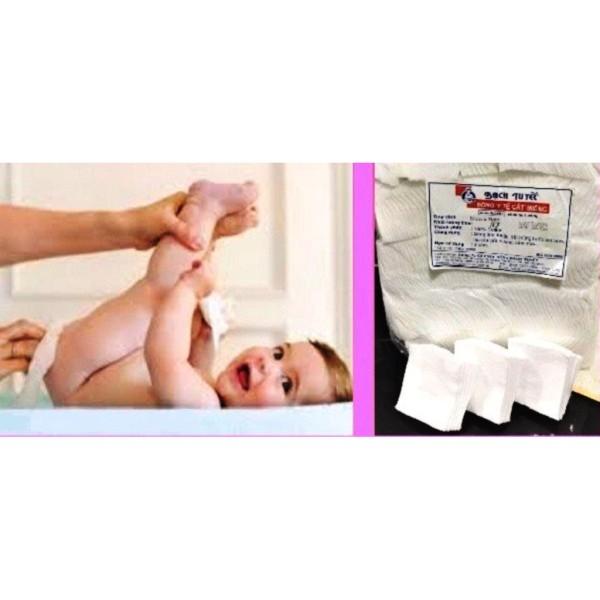 Bông cân y tế cắt miếng Bạch Tuyết 10X10cm 7x7cm - 10x10 cam kết hàng đúng mô tả chất lượng đảm bảo an toàn đến sức khỏe người sử dụng nhập khẩu