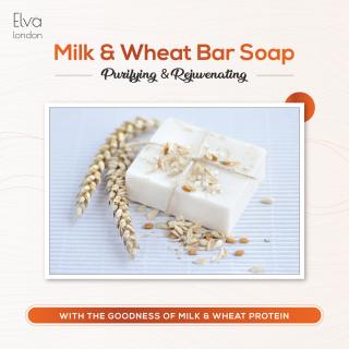 MIlk and Wheat Bar Soap thumbnail