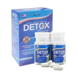Liệu Trình 2 Lọ Thảo Dược Giảm Cân Detox Slimming Capsules Mỹ Hiệu Quả (21x2 viên) thumbnail