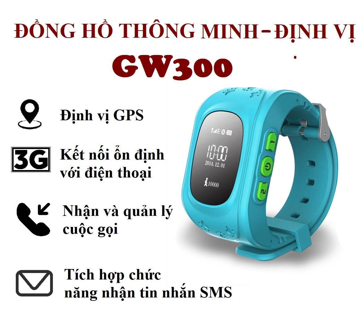 Đồng Hồ Thông Minh & Định Vị Trẻ Em GW300 - Giám Sát Mọi Lúc Mọi Nơi bán chạy