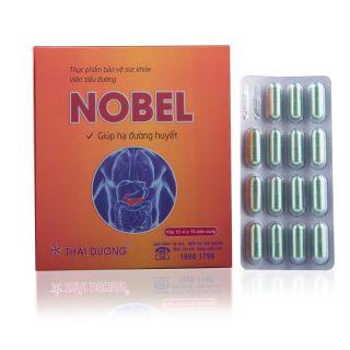 Giúp hạ và ổn định lượng đường huyết, Xóa tan lo lắng biến chứng tiểu đường, bảo vệ lá gan khỏe mạnh với Viên tiểu đường Nobel Thái Dương ( hộp 12 vỉ x 15 viên) thumbnail