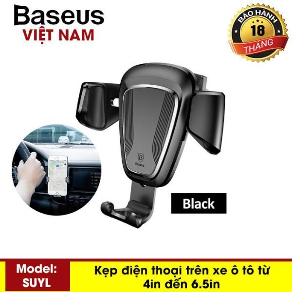 Kẹp điện thoại - Giá đỡ điện thoại trên ô tô Baseus Gravity Car Mount - Phân phối bởi Baseus Vietnam