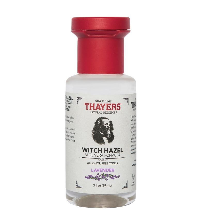 Nước hoa hồng không cồn hương lavender THAYERS Alcohol-Free Lavender Witch Hazel Toner 89ml (Mini Size)
