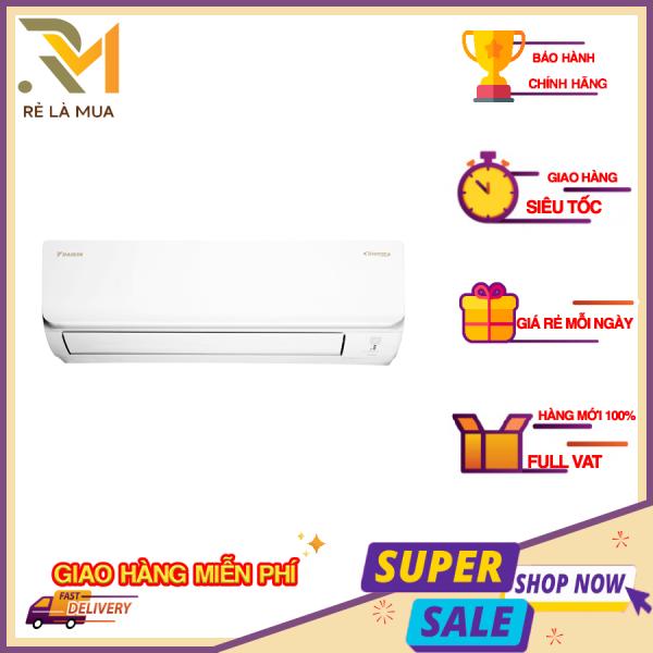 Máy lạnh Daikin Inverter 2 HP FTKA50UAVMV - Công suất làm lạnh 17.100 BTU -  Nhãn năng lượng 5 sao - Hiệu suất năng lượng 4.67