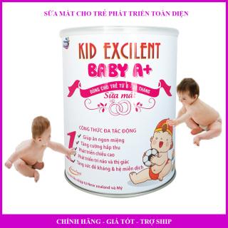 Sữa mát cho trẻ sơ sinh 6-36 tháng Kid Baby A+ 900g thumbnail