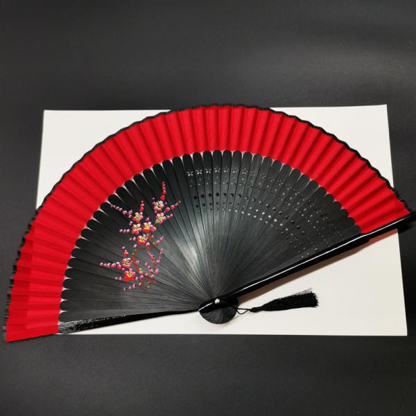 Quạt gấp cổ trang Hanfu phong cách Nhật Bản, quạt xếp cầm tay phong cách cổ trang