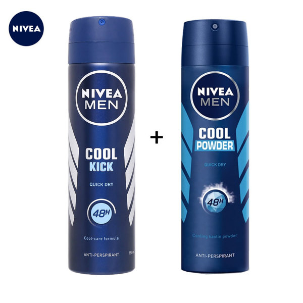 COMBO 2 CHAI XỊT KHỬ MÙI NIVEA MEN 150ML/CHAI cao cấp