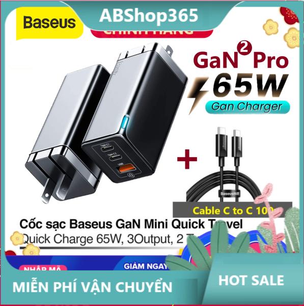 Baseus Bộ Sạc USB Nhanh Gan 65W Sạc Nhanh 4.0 3.0 Bộ Sạc USB PD AFC SCP Cho Iphone 11 Pro Max iPad Pro MacBook Pro Xiaomi Samsung Huawei Baseus Bộ Sạc USB Nhanh Gan 65W Sạc Nhanh 4.0 3.0 Bộ Sạc USB P