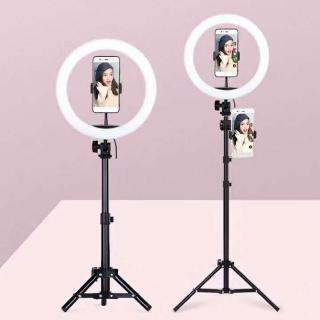 Đèn Led Hỗ Trợ Livestream, Chụp Hình Sản Phẩm, Makeup, Studio ZD666 ĐÈN LED RING MINI THIẾT BỊ QUAY PHIM, LIVESTREAM, CHỤP ẢNH - Đèn Livestream và Trang điểm 26CM thumbnail