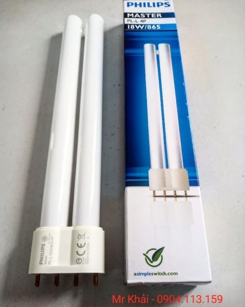 (SALE) Bóng đèn Philips Master PL-L 18W/865 4P