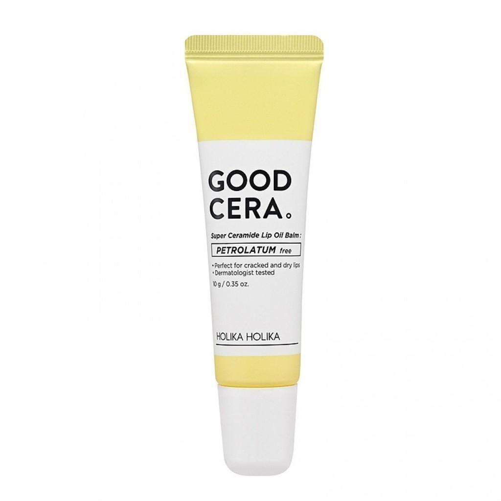 Dầu dưỡng mịn môi Holika Holika Good Cera Super Ceramide dạng tuýp_10g cao cấp