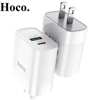 Sạc nhanh iphone 18w HOCO C80 PD+ QC3.0 Sạc nhanh 18w đầu chia iphone -type-c thumbnail