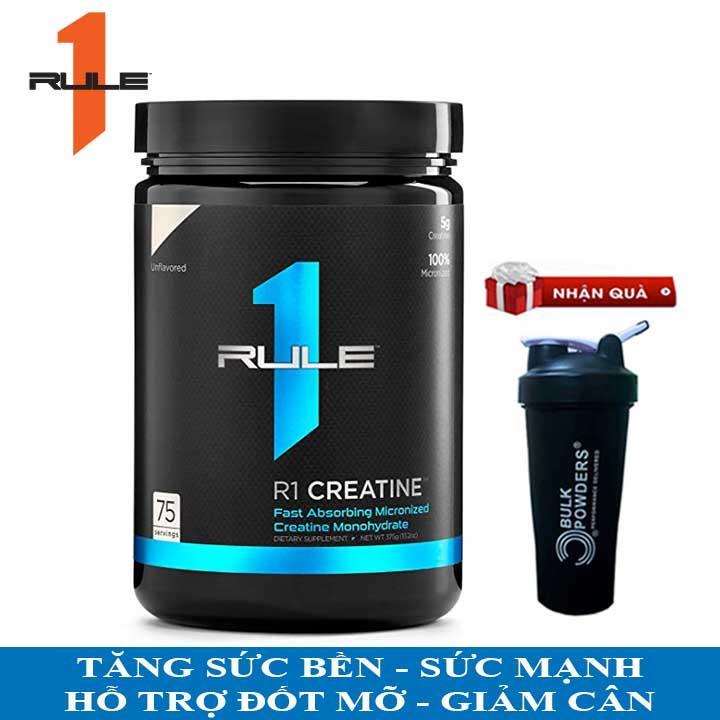 [TẶNG BÌNH LẮC] R1 Creatine của Rule 1 hỗ trợ Tăng Sức Bền, Sức Mạnh đốt mỡ giảm cân, giảm mỡ bụng cho người tập Gym và chơi thể thao - thuc pham chuc nang