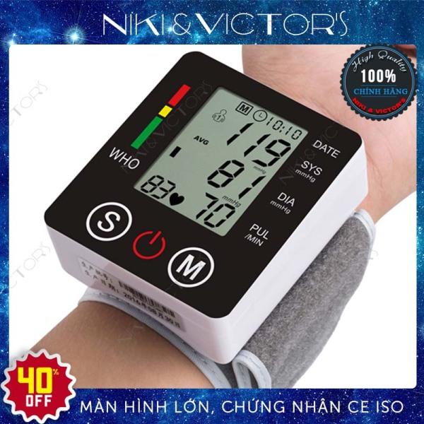 Máy đo huyết áp cổ tay điện tử Jziki chính hãng