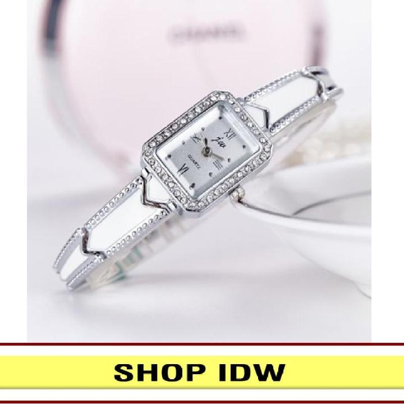 Nơi bán [Có video quay thật] Đồng hồ nữ dây hợp kim thời trang JW IDW 1421 (Nhiều màu lựa chọn)