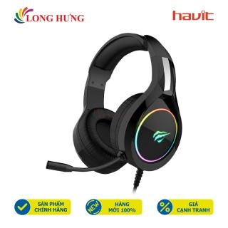 Tai nghe chụp tai Gaming Havit HV-H2232d - Hàng chính hãng - Thiết kế thời thượng, Âm thanh mạnh mẽ, Chống ồn hiệu quả thumbnail