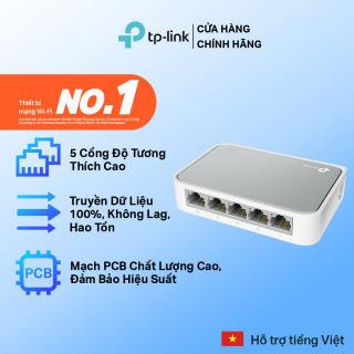 Bộ Chia Tín Hiệu TP-Link TL-SF1005D Switch Để Bàn 5 Cổng 10/100Mbps - Hãng phân phối chính thức