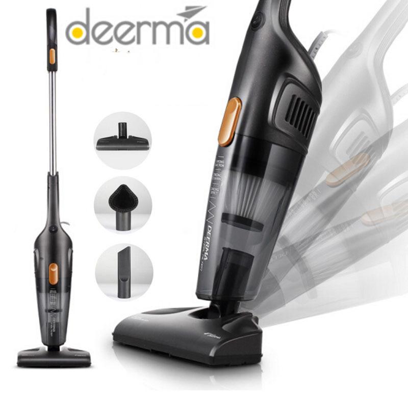 Máy hút bụi, máy hút bụi cầm tay, gia đình Deerma DX115C công suất lớn tới 600W,Tặng bộ hút bụi dễ dàng hút ghế sofa [Bảo Hành 1 năm]