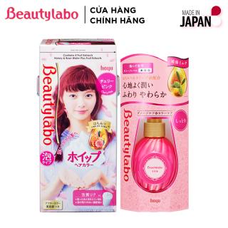 [NEW] Combo Thuốc nhuộm tóc tạo bọt Beautylabo 125ml và Serum Dưỡng Tóc Beautylabo 120ml thumbnail